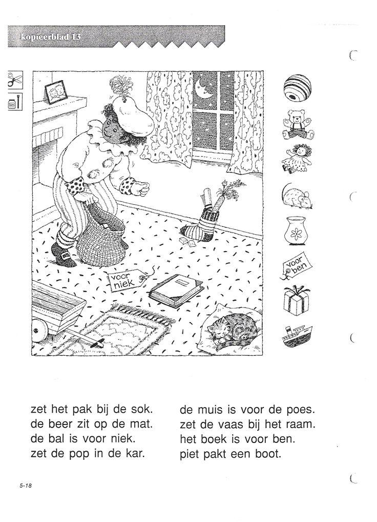 begrijpend lezen Sint en Piet (opdrachtbegrip)