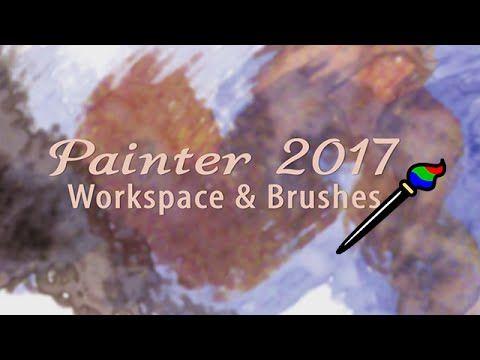 Custom Workspace & Brushes for Corel Painter 2017