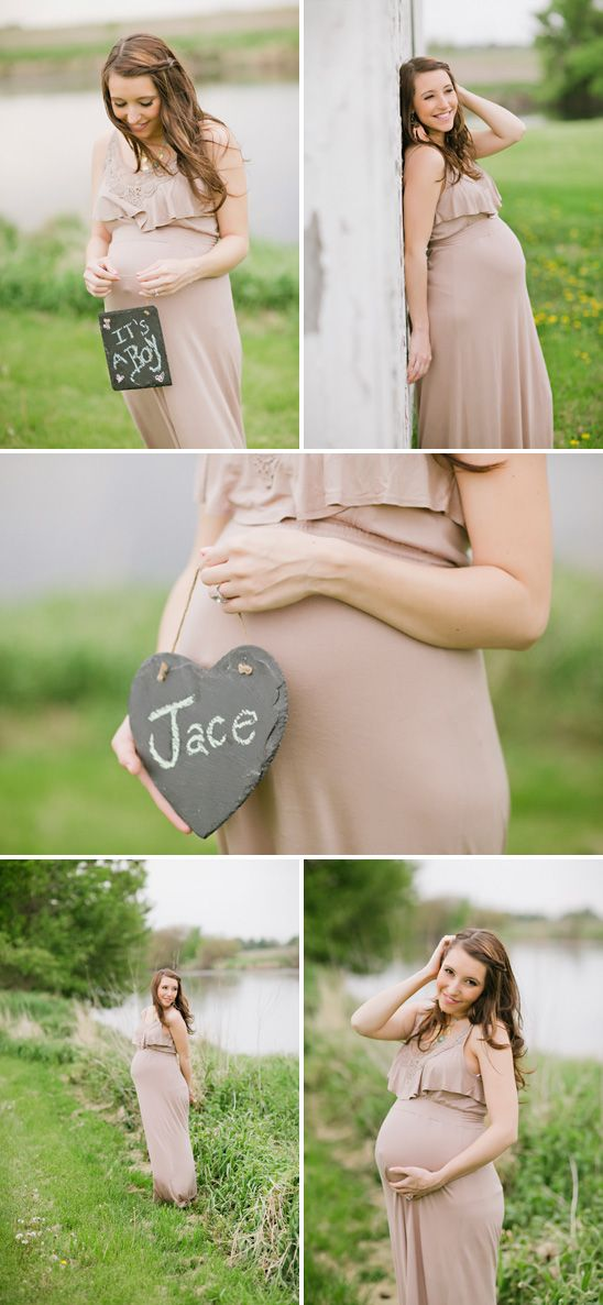 how to take maternity photos yourself