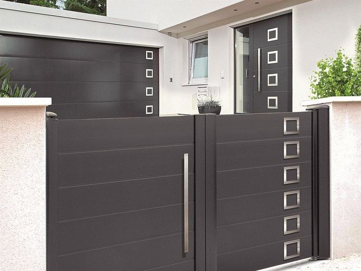 13 best porte garage images on Pinterest Blinds, Chrochet and - Montage D Un Garage En Bois