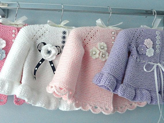 Knitting PATTERN Baby Jacket B |