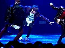 "hobiga: "" I just found my favourite part of the not today choreo """