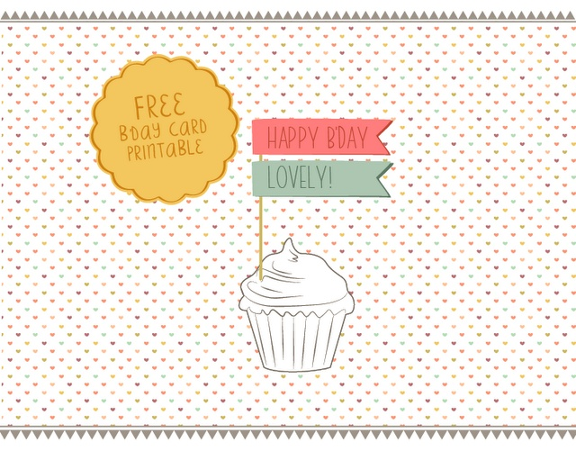 Printable Birthday Card
