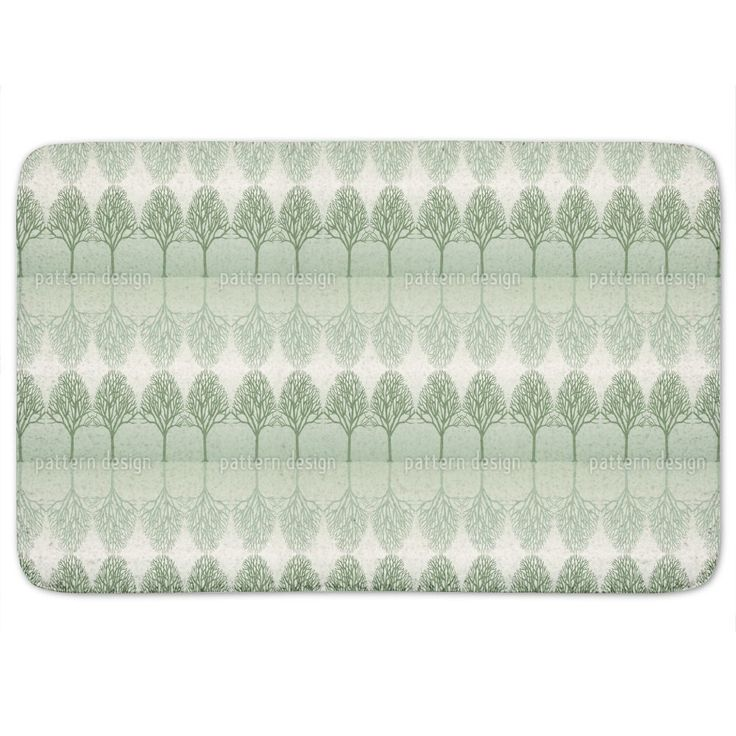 Uneekee Alley Green Bath Mat