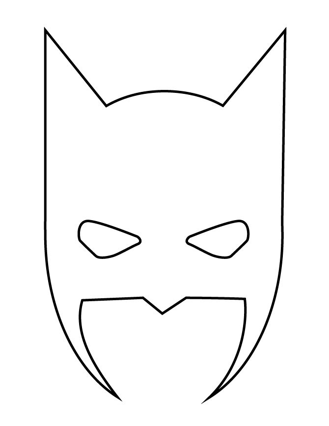 23 best stencil images on Pinterest Superhero, Silhouettes and - printable mask template