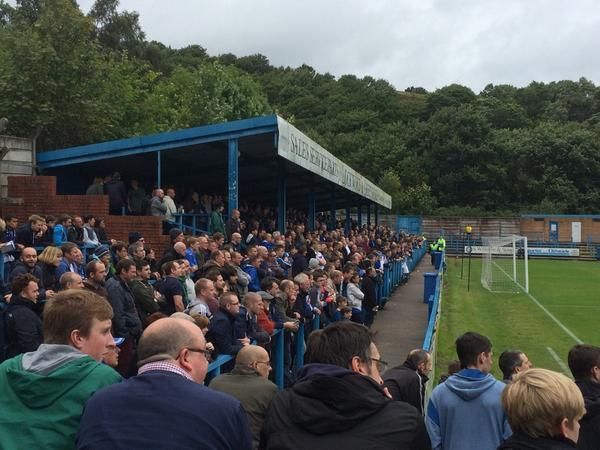 Stockport County at Stalybridge Celtic today #SCFC #STOCKPORTCOUNTY pic.twitter.com/PSACzNVGa4