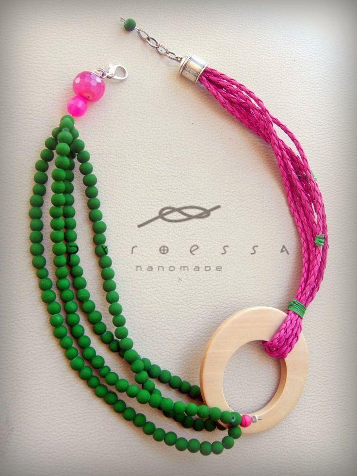 Pyroessa Handmade: Feel the colour - Nahéma collection