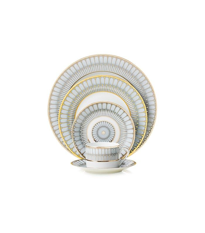 Philippe Deshoulieres Arcades Dinner Plate | 8 Modern Fine China Sets We're Lusting After via @MyDomaine