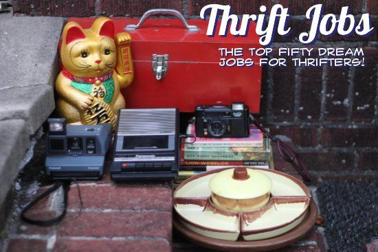 Thrift Jobs: The Top 50 Dream Jobs for Thrifters