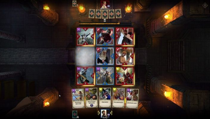 Knightfall Rivals is a Free to play Strategy Card Multiplayer Game featuring over 100 unique cards