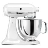 KitchenAid KSM150PSWH Artisan Series 5-Quart Mixer, White (Kitchen)By KitchenAid