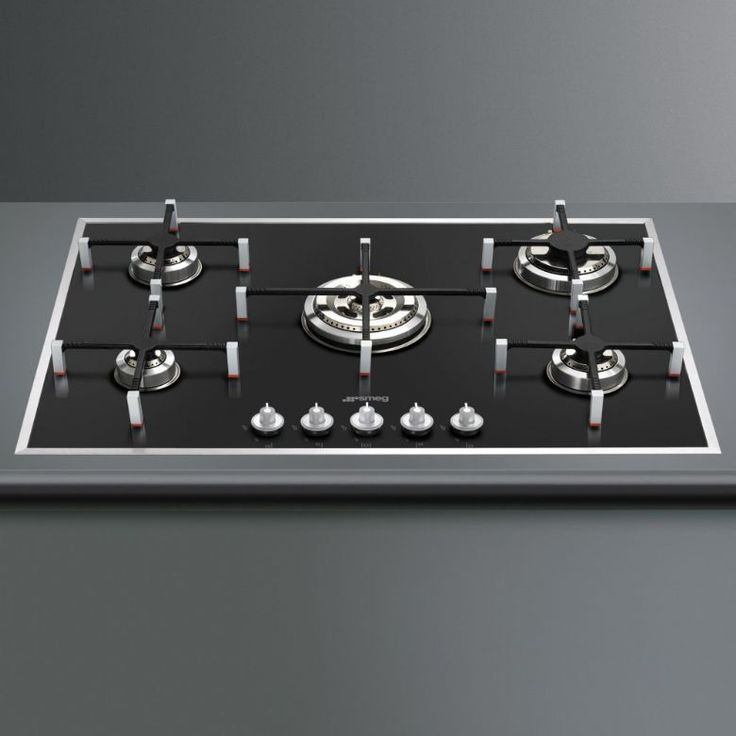 Kitchen Hob Whirlpool Norway ~ Smeg pvn cm linea burner ultra low profile gas on