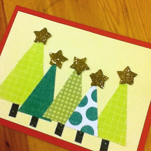 17 best images about christmas cards on pinterest for Crafty christmas cards ideas