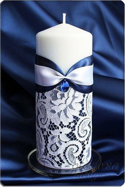 """Свадебные свечи """"Люкс""""rnсвадебные свечи,семейный очаг,домашний очаг, родительские свечи,свадебные аксессуары ручной работы"""