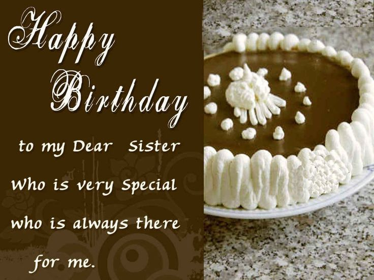 Birthday Cake Images Hd For Brother : 1000+ ideas about Birthday Wishes To Sister on Pinterest ...