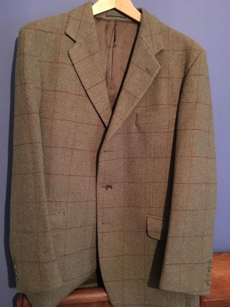 Mens Cordings Check Tweed Jacket. Great Condition. Size 42 Regular | eBay