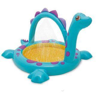 Planschbecken Badespaß Schwimmbad für Kleinkinder mit Spritzdüse Pool Planschbecken Kinderpool Babypool Baby Pool Schwimmingpool Spray Pool mit Spray Splash - Sprühpool / Sprüh-Pool / Sprüh Pool