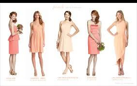 orange lips peach dress - Google Search
