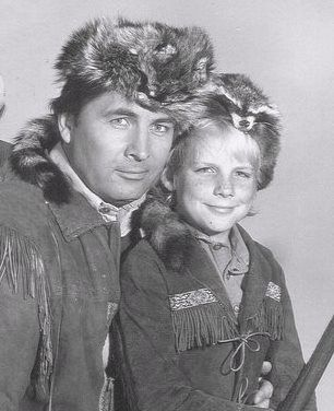 Daniel Boone with Fess Parker and Darby Hinton