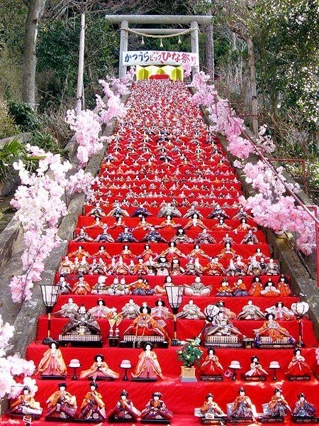 Hinamatsuri (雛祭り, Hina-matsuri), also called Doll's Day or Girls' Day <3