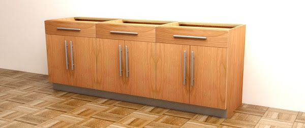 How To Build Frameless Base Cabinets   Base cabinets ...