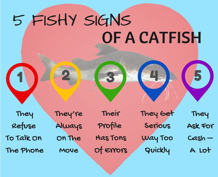 Red Catfish A Hookup Of Warning Flags Signs Online