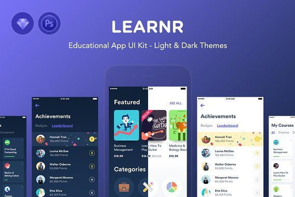 Learnr - Online Courses - Web Elements