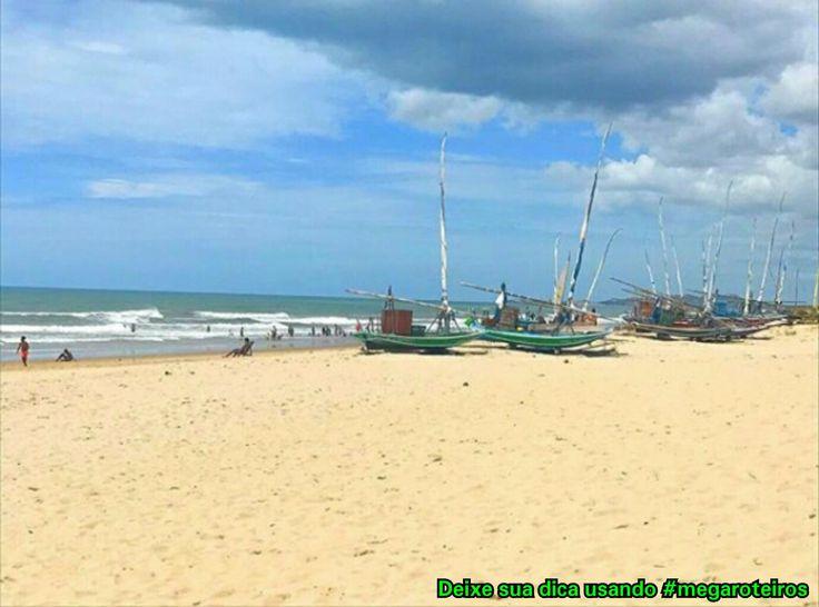 Prainha - Aquiraz - Ceará - Brasil Um lugar de praia branca, mar azul e calmo. Excelente para as crianças! Foto @douglasviajante www.megaroteiros.com.br  #aquiraz #ceará #ceara #ce #fortaleza #brazil🇧🇷