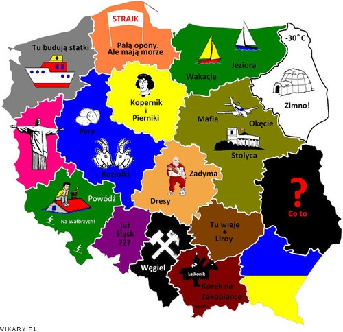 Poland and its regions
