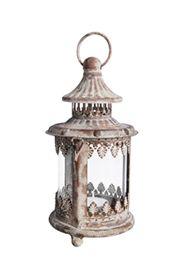 Antikolt vas gyertyatartó, lámpás, üveg betéttel.A terméket gyertya nélkül szállítjuk.Mérete: magasság: 21 cm, átmérő: 11 cm Súlya: 0,34 kg