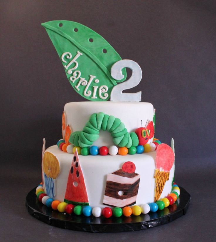 Lil' Miss Cakes - http://lilmisscakes.com/2012/charlie-turns-two-with-the-very-hungry-caterpillar