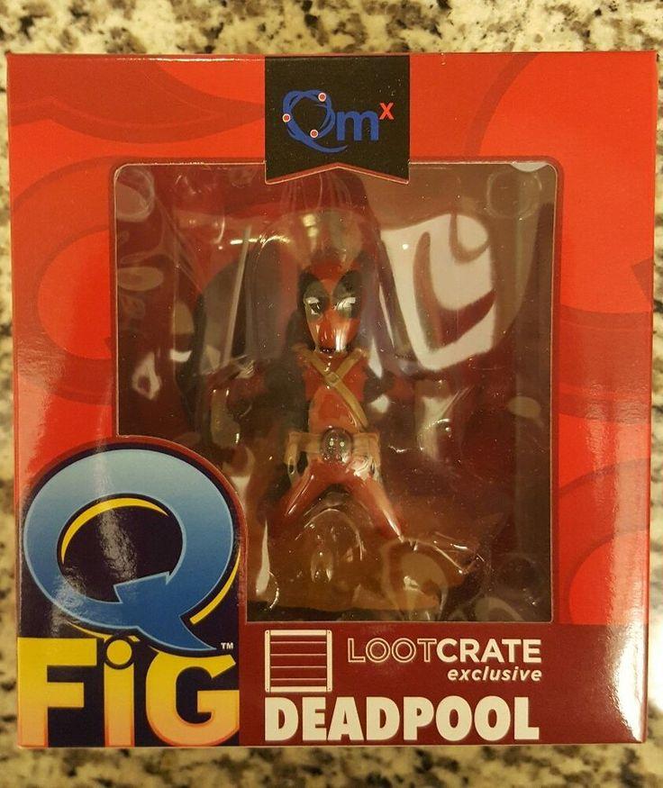 QmX Q-Fig #Deadpool Figure Loot Crate Exclusive NEW #QFig #Marvel