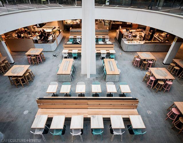 MLC CENTRE FOOD COURT - Cafe Culture + Insitu