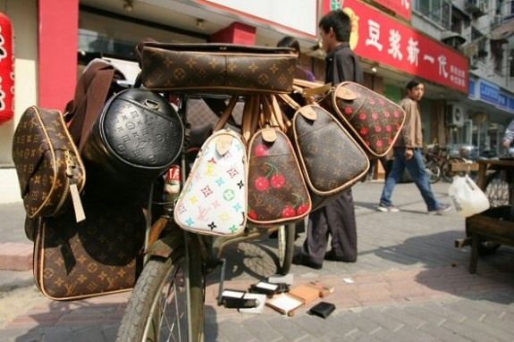 Purses! Purses! and more Purses!  Canal Street, China Town, NYC