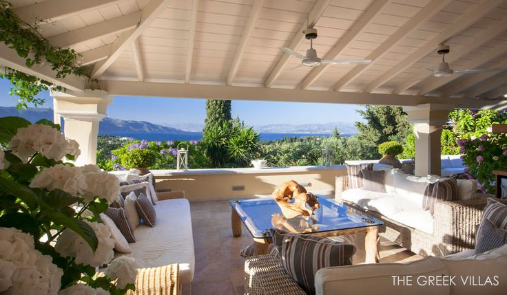 Luxury Corfu Villas, Corfu Villa Carmela, Ionian Islands, Greece