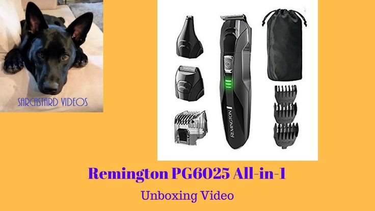 Remington PG6025 All-in-1 Lithium Powered 8 Piece Grooming Kit-Trimmer -...