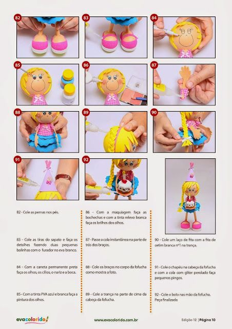 Cursos y tutoriales para manualidades: como hacer fofuchas paso a paso 10