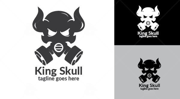 King Skull Logo