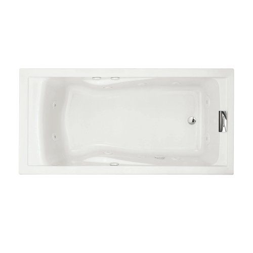 American Standard 7236VC.020 Evolution Deep Soak Whirlpool Bath Tub with EverClean and Hydro Massage System I, White, 6-Feet by 36-Inch >>> Click image to review more details.