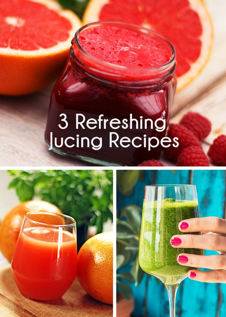 3 Refreshing Juicing Recipes to Try Today!