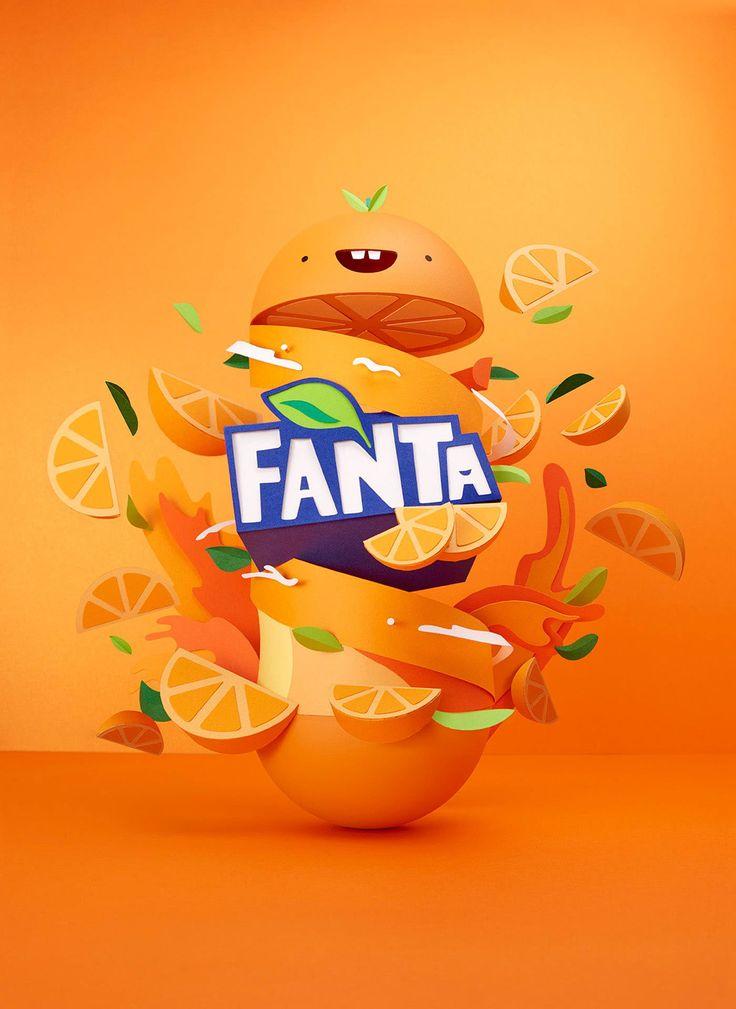 Fanta Flavourland | Lobulo on Behance