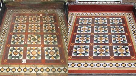 Georgian Tiles Georgian floor tiles are geometric tiles that were created with versatility in mind. Traditionally the tiles came in a variet...