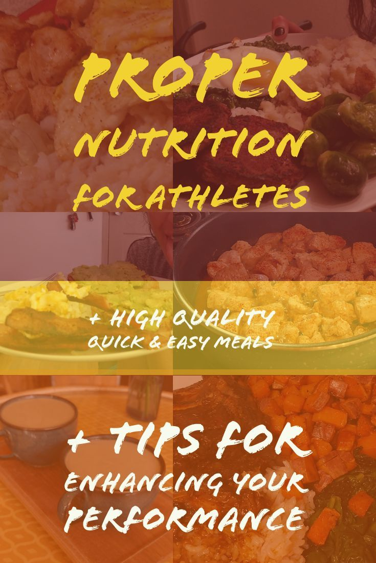 Nutrition Tips For Athletes Proper Nutrition Nutrition Athlete Meal Plan