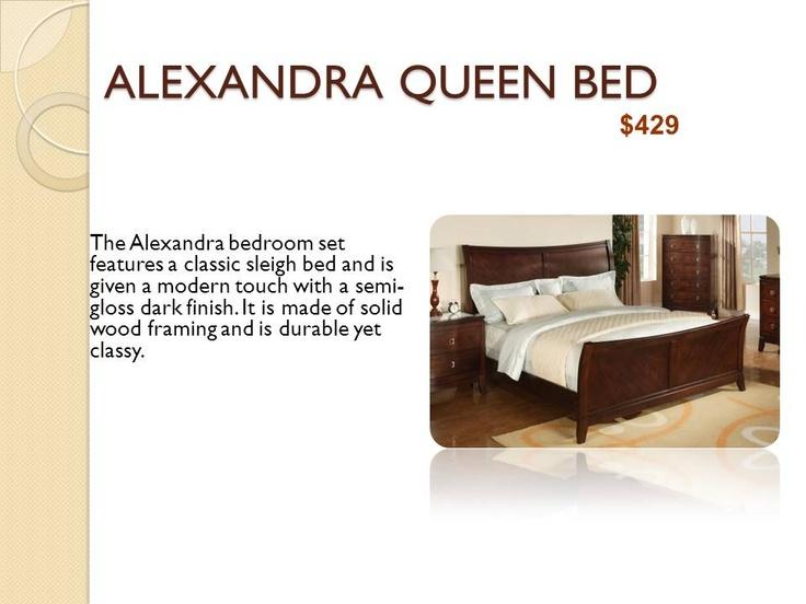 Alexandra Queen Bed Bedroom Furniture In Dallas