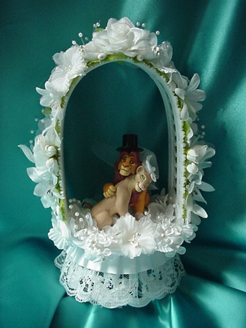Lion King Wedding Cake Topper By Cinhol On Etsy