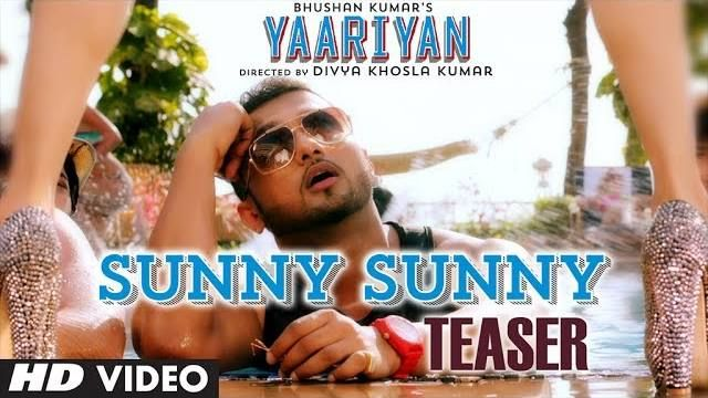 """Sunny Sunny"" feat Honey Singh http://www.onlinevideosongs.com/2013/12/sunny-sunny-song-movie-yaariyan-yo-yo.html Sunny Sunny is a day party song composed, written & performed by Yo Yo Honey Singh, the female voice is of Neha Kakkar."