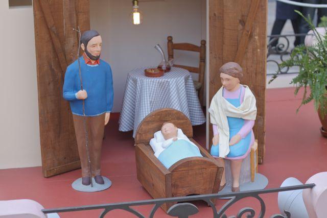 Barcelonas Nativity Scene In Placa Sant Jaume