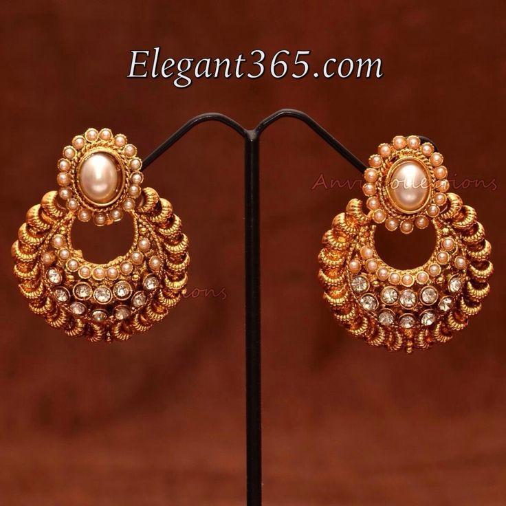 Chandbali Earring designs
