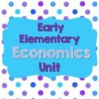 Are you teaching economics to your class? This 31 page unit is perfect! It includes: * 9 posters with terms and definitions and examples  *word wal...