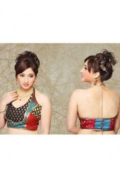 I added this in my board and i think this again is another good looking blouse. I consider it as stunning stuff for some marriage of functions. Planning to wear it over my fiance's promotion party..  http://rajasthanispecial.com/index.php/womens-collection/blouses/halter-saree-blouse.html
